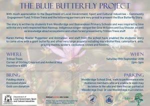 Blue Butterfly Project @ The Blue Butterfly Project | Hazelmere | Western Australia | Australia
