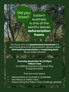 Our Challenge, Our Solution @ Trillion Trees | Hazelmere | Western Australia | Australia