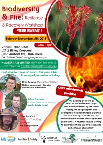 Biodiversity and Fire: Resilience and Recovery @ Trillion Trees | Hazelmere | Western Australia | Australia