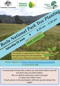 Beelu National Park Tree Planting Saturday 22 June @ Glen Forrest | Western Australia | Australia
