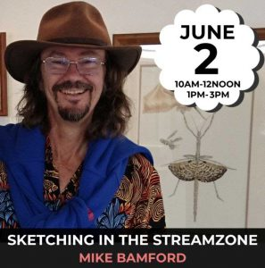 Sketching in the Streamzone @ Trillion Trees | Hazelmere | Western Australia | Australia