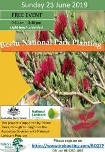 Beelu National Park Tree Planting Sunday 23 June @ Glen Forrest | Western Australia | Australia