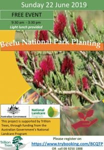 Beelu National Park Tree Planting Sunday 23 June @ Mundaring | Western Australia | Australia