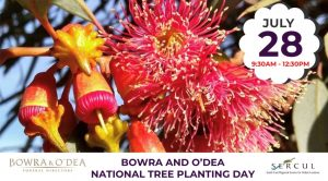 Bowra and O'Dea National Tree Planting Day With Trillion Trees