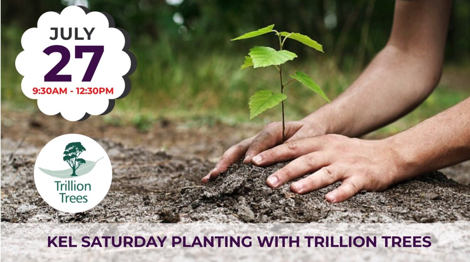 Kel Saturday Planting with TT 27Jul19