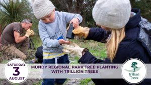 Mundy Regional Park Tree Planting With Trillion Trees @ Mundy Regional Park - Meeting Point to be confirmed | Forrestfield | Western Australia | Australia