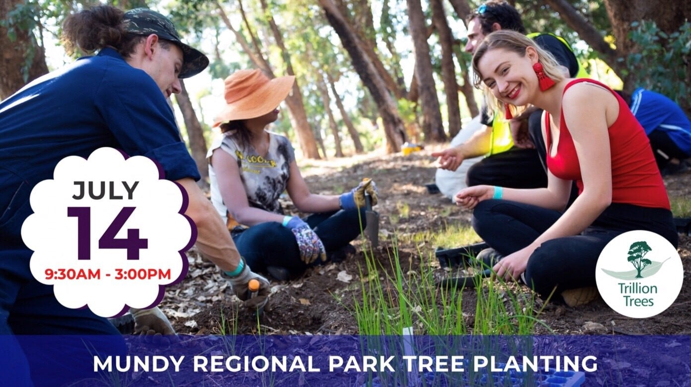 Mundy Regional Park Tree Planting 14Jul19