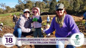 Upper Lesmurdie Falls Planting with Trillion Trees @ Lesmurdie | Lesmurdie | Western Australia | Australia