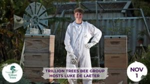 Trillion Trees Bee Group hosts Luke de Laeter @ Trillion Trees | Hazelmere | Western Australia | Australia